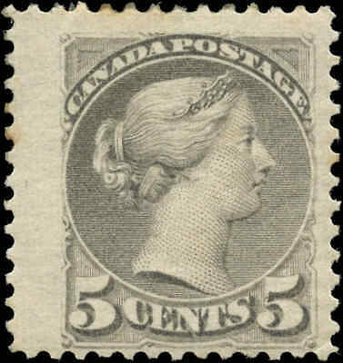 Canada Scott #42 5c1888-1897 Small Queen Issue Stamp Mint Hinged