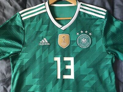 sale retailer 79515 8ad72 ADIDAS THOMAS MULLER Germany Away Jersey World Cup 2018 ...