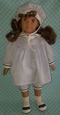 "18"" Vtg Heidi Ott Faithful Friends Maggie Vinyl Doll"