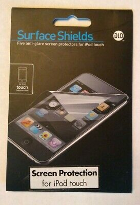 Surface Shields for iPod Touch (5 Anti-Glare Protectors) - New Unopened