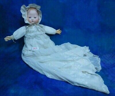 Antique 1900s German Armand Marseille Kiddiejoy Baby Kiddie Joy Bisque Doll DE8