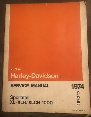 Harley Davidson 1993 1994 Xlh Sportster Models Service Manual P N 99484 94 Motorcycle Manuals Literature Other Motorcycle Manuals