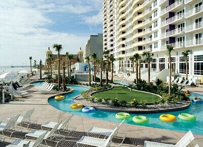 Daytona Beach Ocean Walk 1BR suite 3 Nts July 1-4