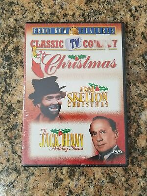 Classic Tv Comedy Christmas, Red Skeleton & Jack Benny, Factory Sealed Dvd.