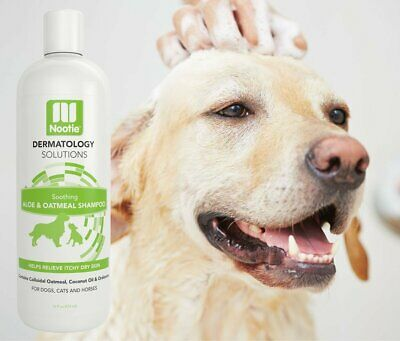 Nootie  Dog Shampoo with Soothing Aloe - 100% All Natural Deodorizing Soap