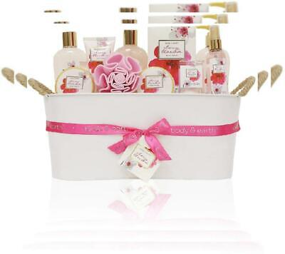Gift Baskets for Women, Body & Earth Bath Gifts Luxurious Spa...