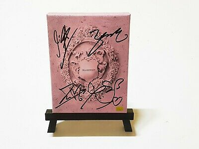 Black Pink Blackpink Signed Album Kill This Love + COA & Photo Card & Package