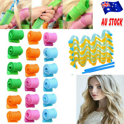 40pcs Spiral Rollers Curler Formers No Heat Leverage Magic Hair Curling Tool