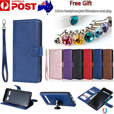 For Samsung Galaxy A20 A30 A50 A70 Magnetic Detachable Leather Wallet Case Cover