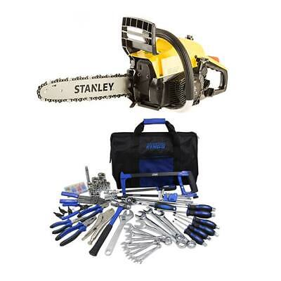 Stanley 37cc Camping Chainsaw + Tool Kit Ultimate Bush Mechanic