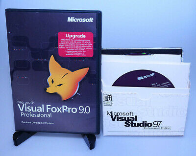MICROSOFT VISUAL FOXPRO 9 0 Professional upg + prev ver = full retail  GENUINE