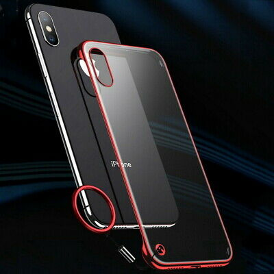 Matte Resist Cracking Hard Finger Ring Case Cover For iPhone XS Max XR 8 7 Plus