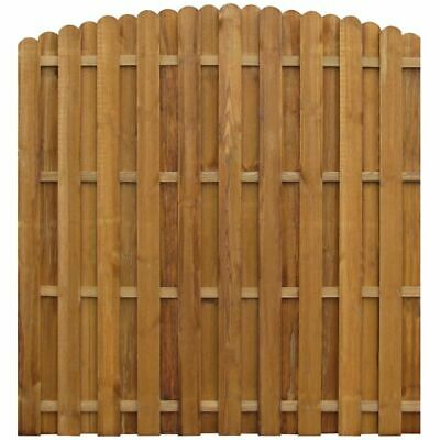 Panel valla Hit & Miss madera de pino impregnada 170x(156-170) I6K3