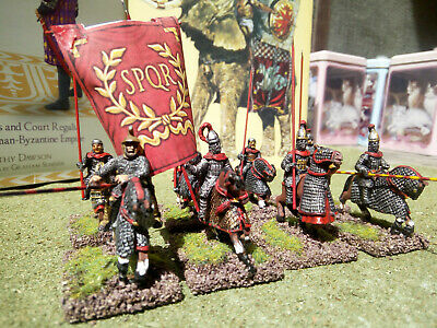 28mm LATE ROMAN/BYZANTINE  EXTRA HEAVY CAVALRY