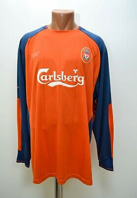 Liverpool 2004/2005 Goalkeeper Football Shirt Jersey Reebok Size Xl Adult