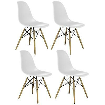 Astounding 4X Modern Replica Eiffel Dining Chairs Wood Legs Dsw Kitchen Pdpeps Interior Chair Design Pdpepsorg