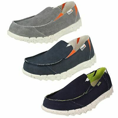 HEY DUDE FARTY FUNK Mens Canvas Slip On Casual Summer Shoes