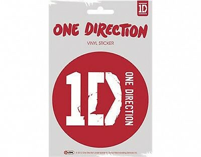 ONE DIRECTION logo 2012 circular VINYL STICKER official licensed merchandise 1D