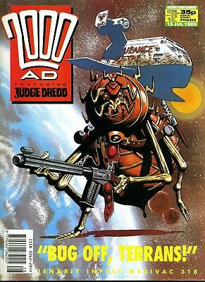2000AD PROG 635 Judge Dredd Mega City One Comic Issue lot in Excellent Condition