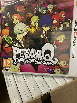 Nintendo 3DS Persona Q Shadow Of The Labyrinth SEALED NEW