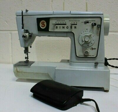 Vintage Singer 5107 Electric Sewing Machine + Accessories + Case - 250