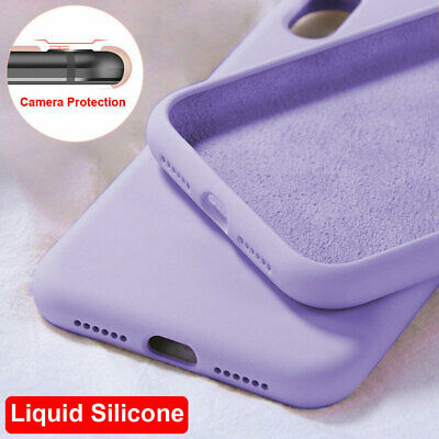 For Samsung Galaxy A50 A40 A70/M30 Shockproof Liquid Silicone Rubber Case Cover