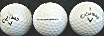 24 CALLOWAY CHROME SOFT Used Golf Balls in Mint  5AAAAA Condition  FREE SHIPPING