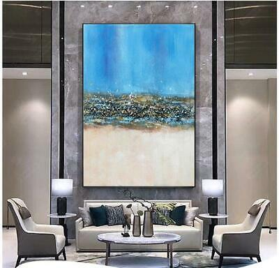 VV411 Modern large hand-painted abstract oil painting on canvas frameless