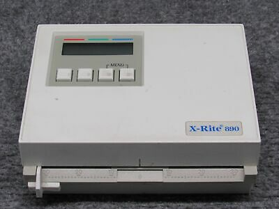 X-RITE 890U Color Photographic Scanning Densitometer