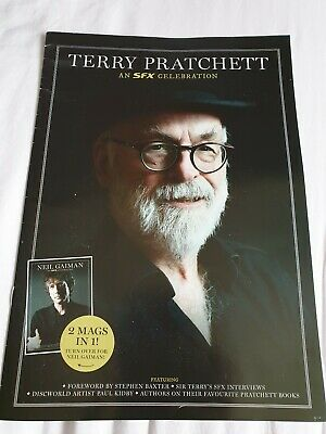 SFX Terry Pratchett And Neil Gaiman Celebration Supplement Magazine.