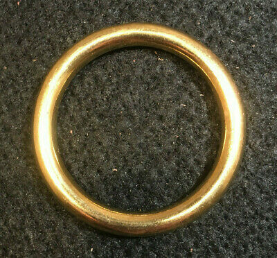 "O Ring - 1 3/4"" - Solid Brass - Pack of 10 (F485)"