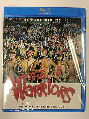 The Warriors 1979 Theatrical Edition Blu-Ray REGION FREE Rare Bonus Features NEW