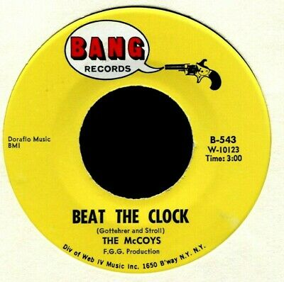 THE McCOYS BEAT THE CLOCK / LIKE YOU DO TO ME 1967 HQNM GARAGE ROCK