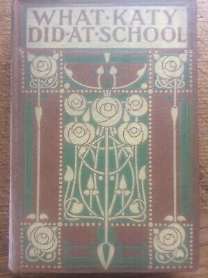 Ethel Larcombe for Talwin Morris Arts & Crafts Glasgow Rose What Katy Did Book