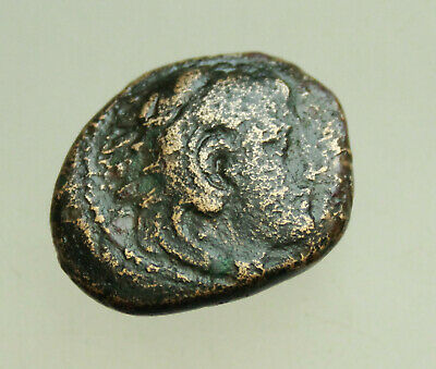 "Kings of Macedon Alexander III ""the Great""  AE17-21mm 6,6g Heracles Bow"