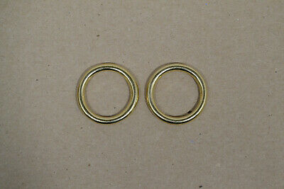 "O Ring - 3/4"" - Solid Brass - Pack of 12 (F492)"