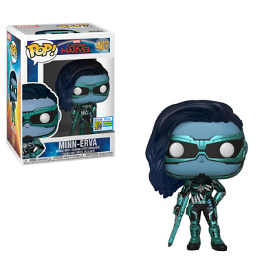 Funko Pop Captain Marvel  - MINN-ERVA - SDCC 2019 SHARED EXCLUSIVE - PREORDER
