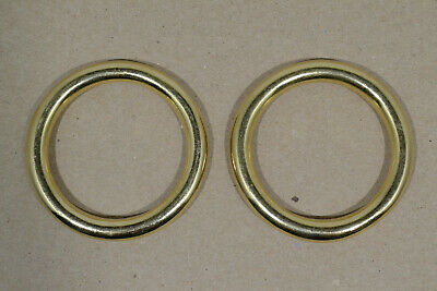 "O Ring - 1 1/2"" - Solid Brass - Pack of 12 (F497)"