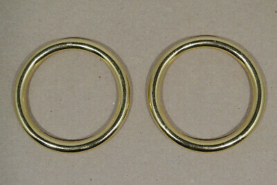 """O Ring - 2"""" - Solid Brass - Pack of 2 (F499)"""