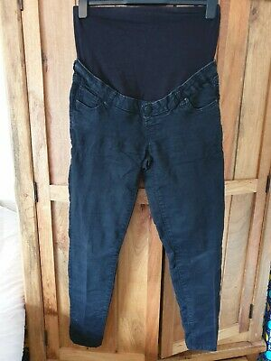 Mothercare Blooming Marvellous Under or Over Bump Black Jeans Size 12R