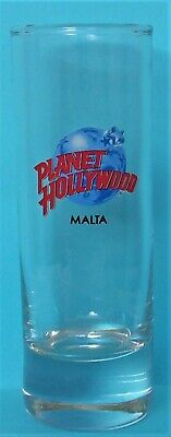 Planet Hollywood  MALTA  Cordial/Shot Glass   2019  New