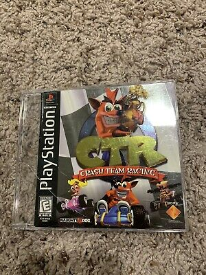 """1999 """"CTR: Crash Team Racing"""" Sony PlayStation 1 PS1 Game (Disc/Manual Only)"""