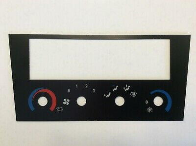 New re-manufactured, Lotus Esprit heater control graphics panel