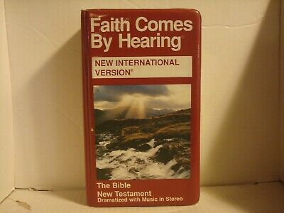 Faith Comes By Hearing New International Version (12-Cassette Set ) L N
