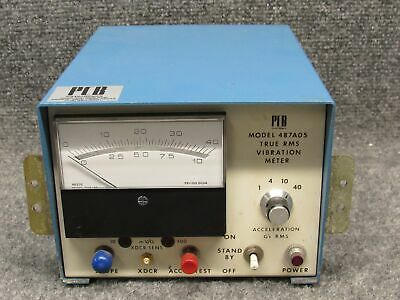 PCB Pieztronics 487A05 True RMS Vibration Meter Monitor