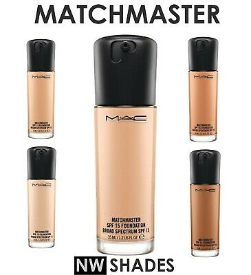 MAC Matchmaster ❤️ SPF 15 Foundation ALL NW Shades 35ml - Brand new  CLEARANCE