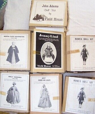 Lot of 7 Vintage Yield House Doll Kits