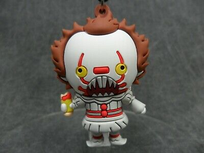 Horror Properties NEW * Pennywise (2017) * IT Keychain Clip Blind Bag Key Chain