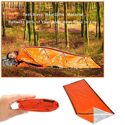 Emergency Sleeping Bag Thermal First Aid Survival Rescue Survival Camping Lot SD