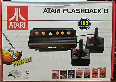 ATARI Flashback 8 AR3220 Classic Game Console with 105 Built-in Games
